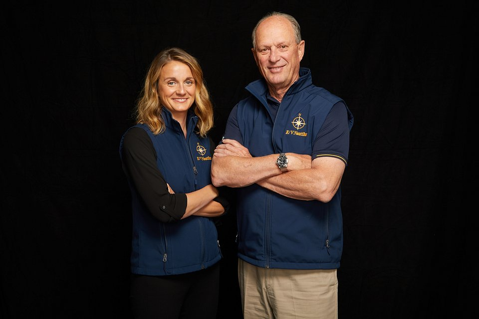 Allison Fundis i Robert Ballard