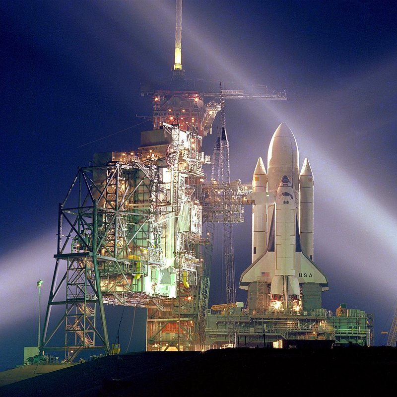 STS-1 on launch pad at night_NASA Photo Number 81pc0136.jpg