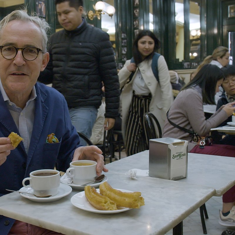 A LONG WEEKEND IN... WITH RORY O'CONNELL - Ep 5 Madrid Rory enjoys breakfast in Madrid..jpg