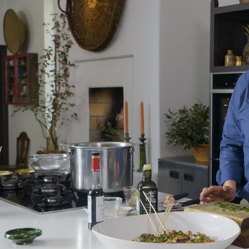 A LONG WEEKEND IN... WITH RORY O'CONNELL - Ep 5 Madrid Rory prepares his Octopus salad)..jpg