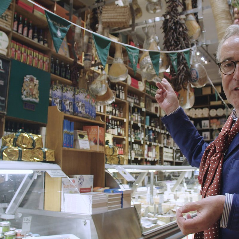 A LONG WEEKEND IN... WITH RORY O'CONNELL - Ep 8 Edinburgh Rory chooses his breakfast at acclaimed Italian deli Valvona and Crolla in Edinburgh..jpg