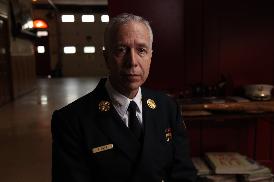 Joseph Pfeifer – szef batalionu Straży pożarnej w Nowym Jorku (FDNY / fot. National Geographic Daniel Bogado