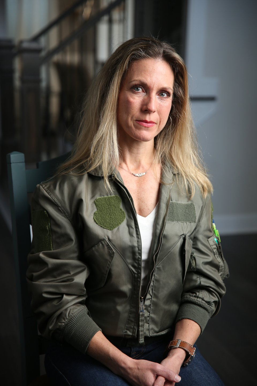 Heather Penney – pilotka myśliwca, D.C. Air National Guard / fot. Stefan Wiesan