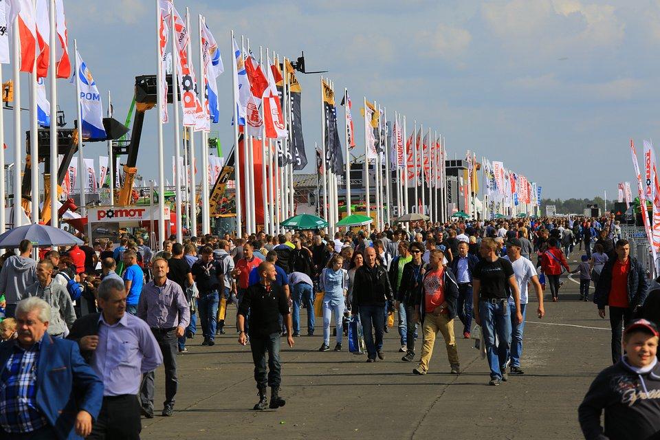Targi Agro Show. Źródło: Polska Izba Gospodarcza Maszyn i Urządzeń Rolniczych