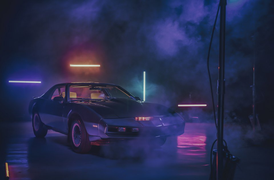 "Replika auta z serialu ""Knight Rider"""