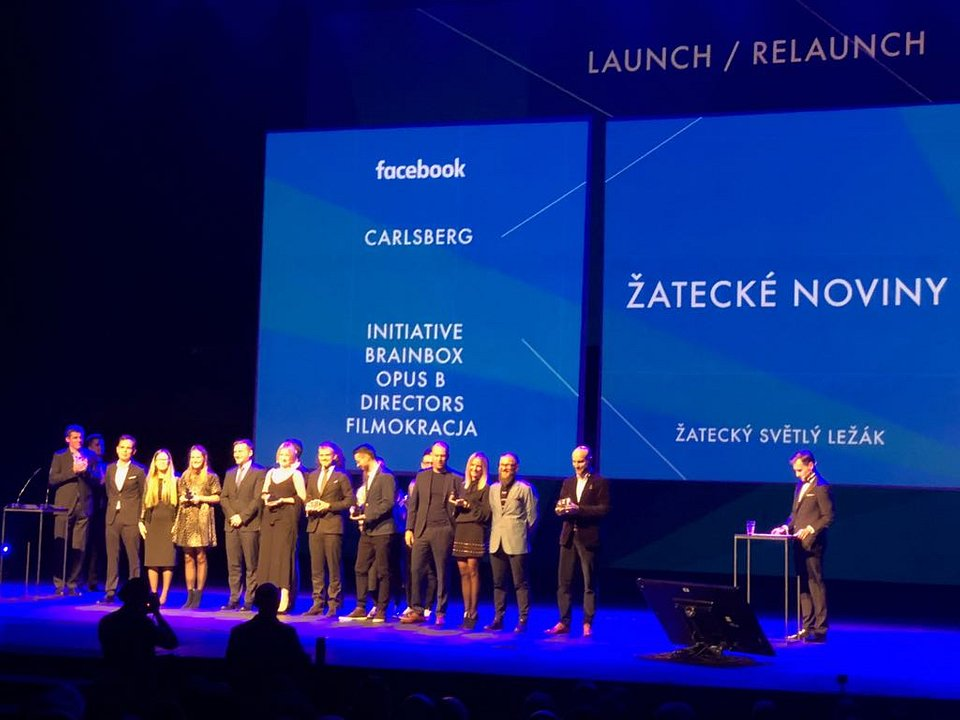 Zwycięski team - Opus B, Carlsberg, Brainbox, Directors, Filmokracja, Initiative