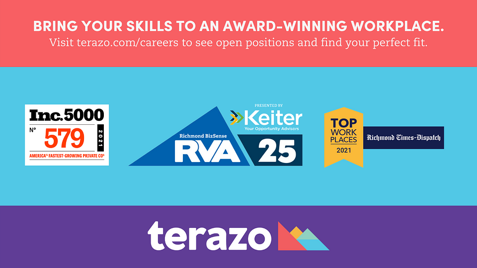 Terazo is now hiring for remote positions in engineering, business development, management, and more.