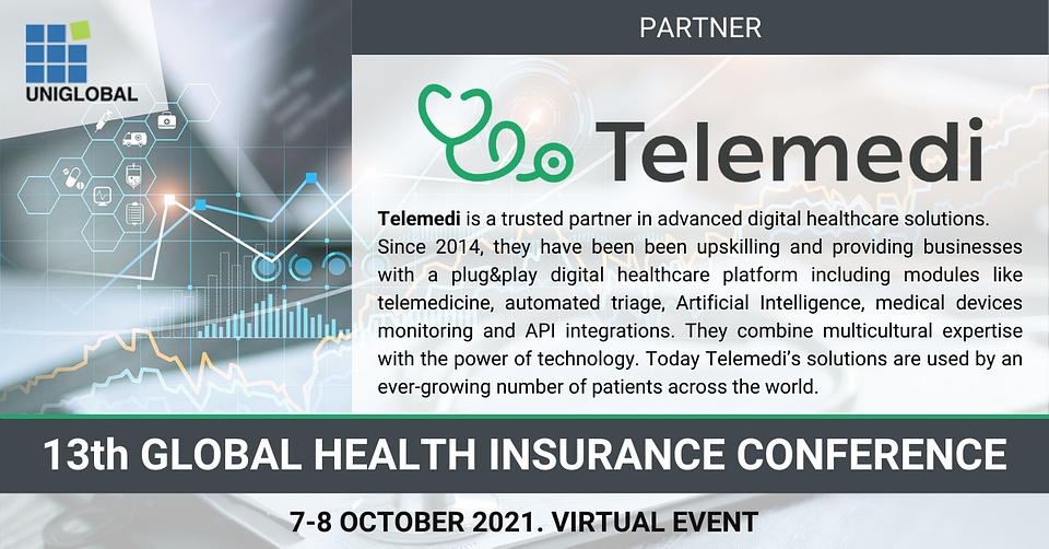 We are proud to be a partner of 13th Annual Global Health Insurance