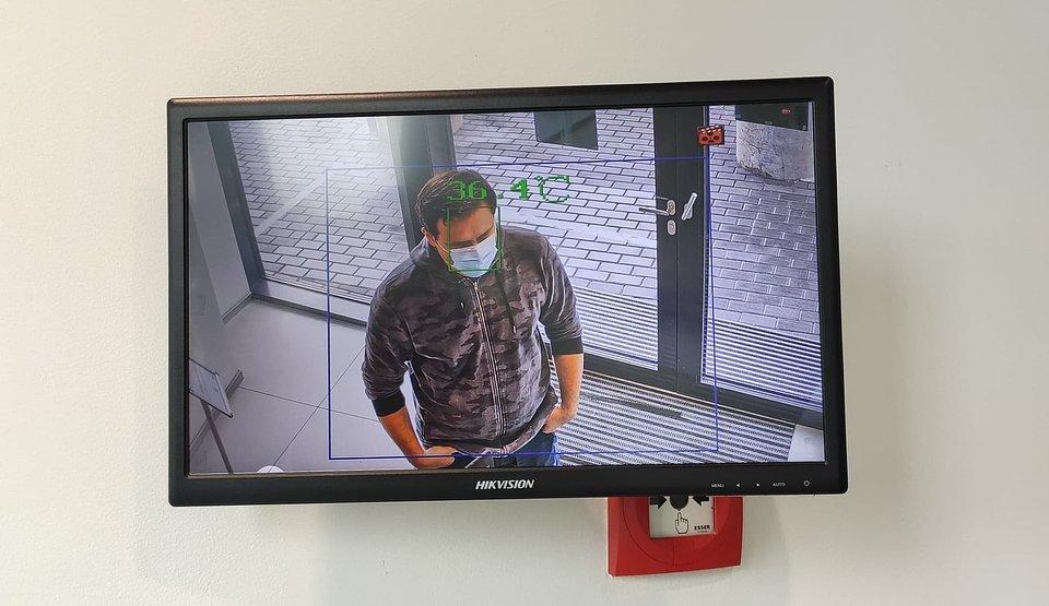 fot. Artur Olewiński - Kamery termowizyjne umożliwiają dokonanie pomiaru z dokładnością do ±0,5°C