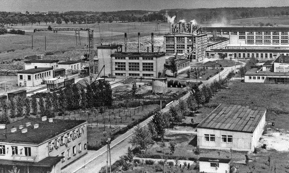 Zakład w 1970 roku
