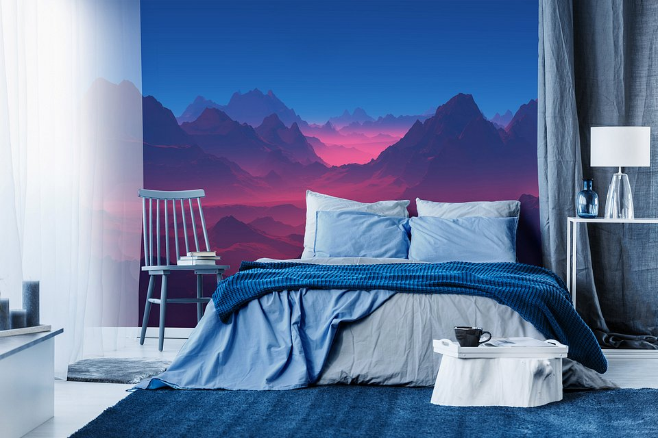 Moody shades of nature - perfect for every bedroom