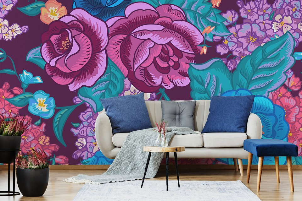Blooming maximalism to add character and depth to every interior