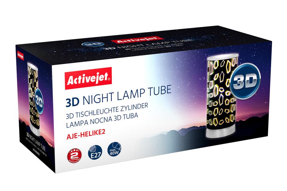 WIZUALIZACJA- lampka 3D - AJE-HELIKE - stojaca