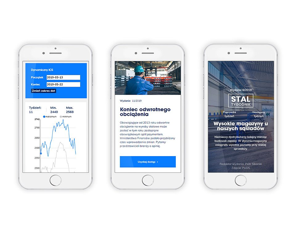 The website has been designed with the growing role of mobile devices in mind.