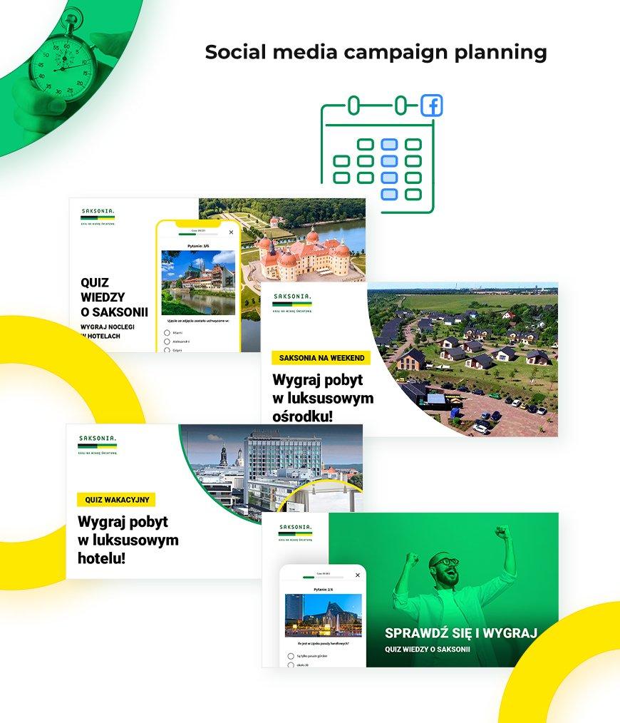 Social Media posts and ads  visuals
