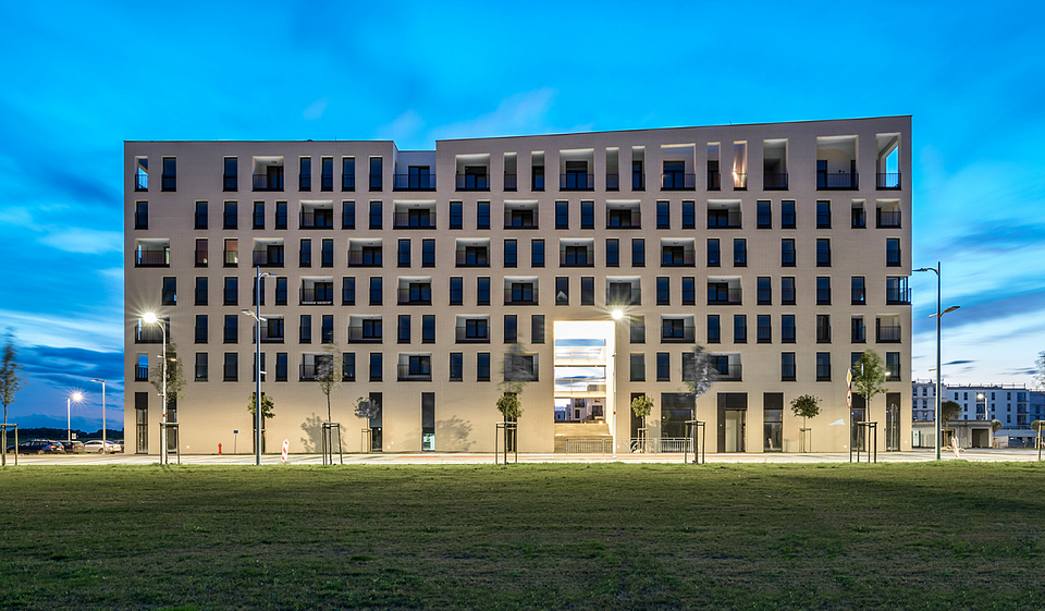 Projekt Budynków mieszkalnych wielorodzinnych z usługami