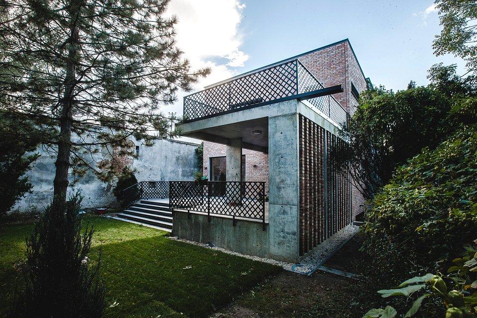 Dom z recyklingu