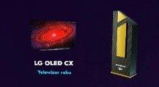 "Tytuł ""Telewizor Roku"" Plebiscytu Imperatory WP dla LG OLED 55CX"