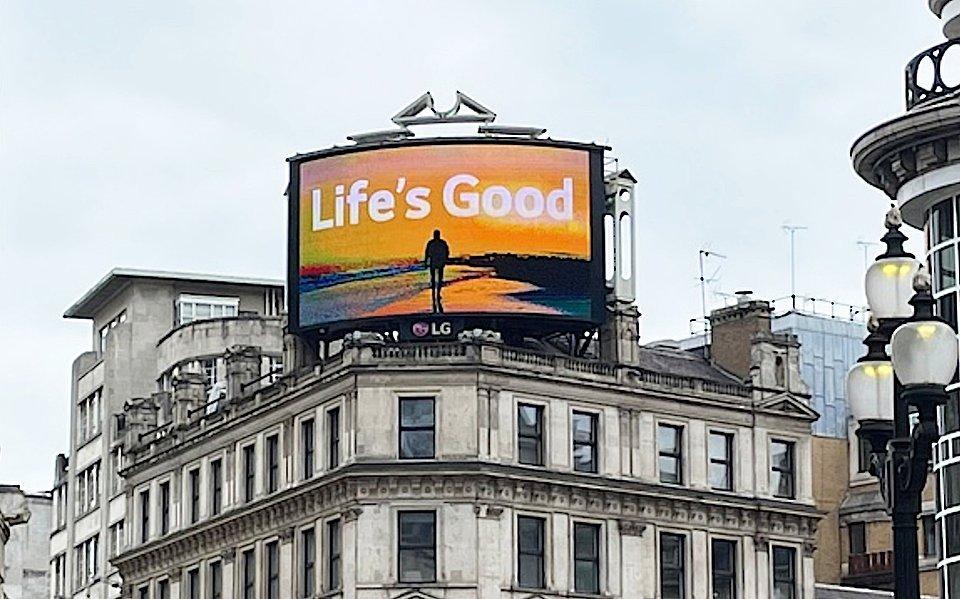 Life's Good Film London Piccadilly Circus.jpg