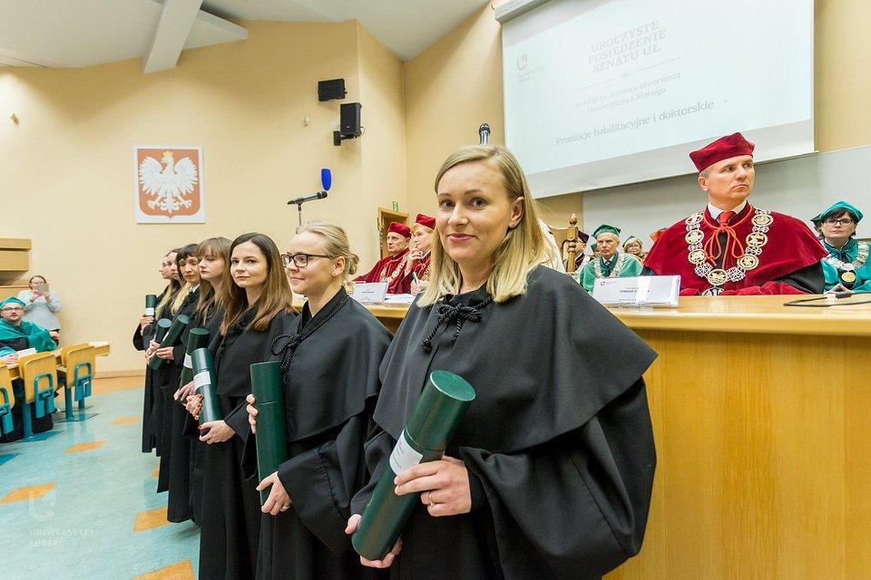 Uniwersytet Łódzki utworzył cztery Szkoły Doktorskie: Nauk Humanistycznych, Nauk Społecznych, Nauk Ścisłych i Przyrodniczych oraz BioMedChem. (fot. Maciej Andrzejewski, UŁ)