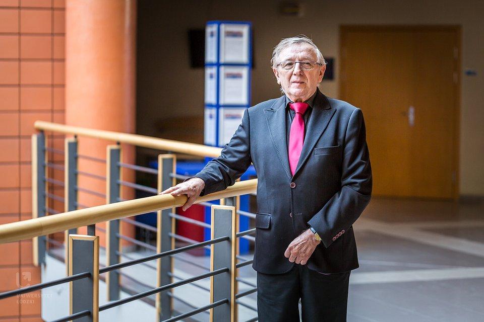 prof. Bogusław Kaczmarek (fot. UŁ)
