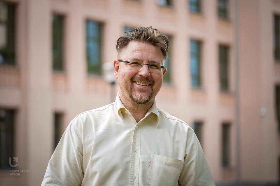 prof. Ryszard Machnikowski (fot. M. Andrzejewski, UŁ)