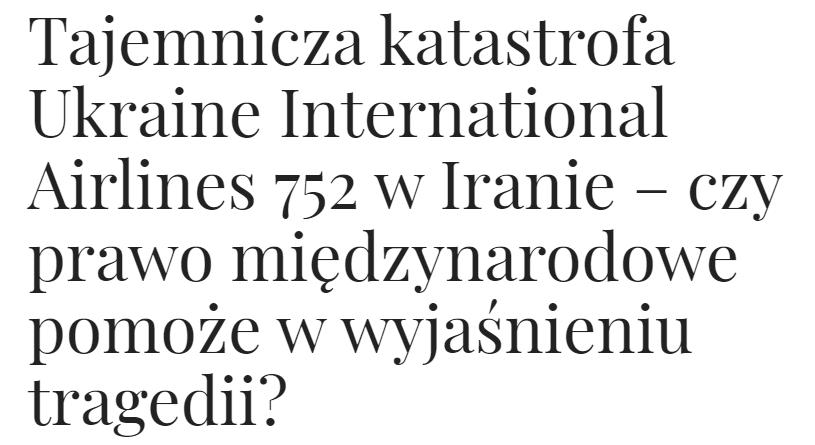 Obserwator Międzynarodowy - artykuł