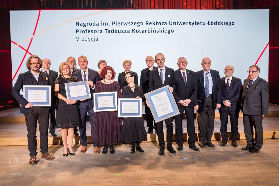 Gala V edycji Konkursu im. prof. Tadeusz Kotarbińskiego (fot. M. Andrzejewski, UŁ)