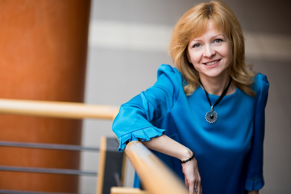 Dr D. Kaczorowska-Spychalska, WZ UŁ (fot. M. Andrzejewski, Centrum Promocji UŁ)