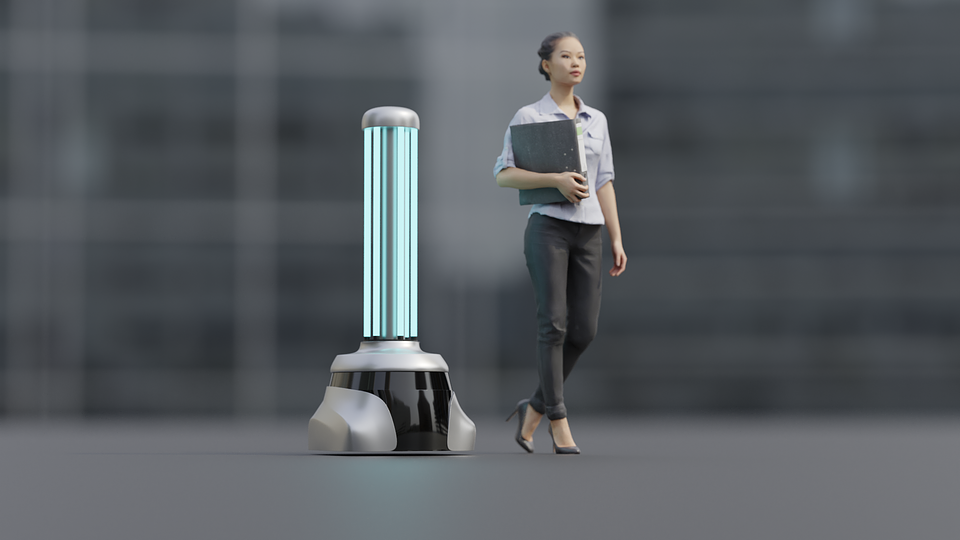 Robo-UV (fot. City Robotics, Deepjyoti Nath)