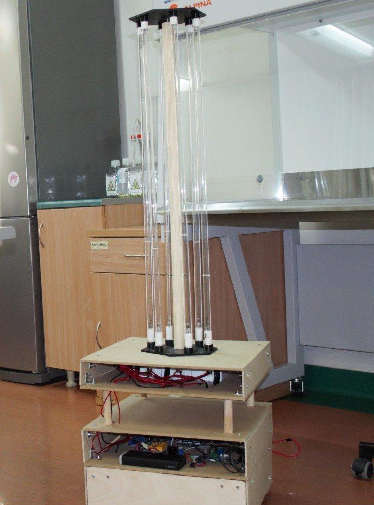 Robo-UV (fot. UŁ, faza testów)