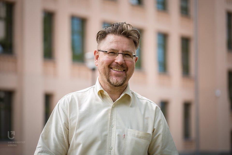Prof. Ryszard Machnikowski, dziekan WSMiP UŁ (fot. M. Andrzejewski)
