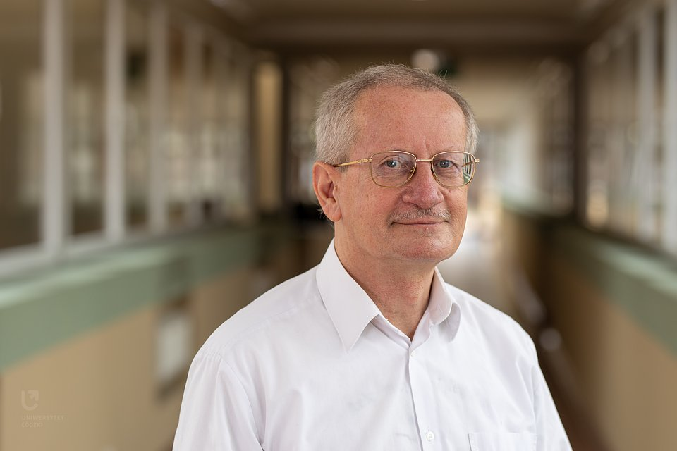 Prof. dr hab. Włodzimierz Bednarek (Wydział Fizyki i Informatyki Stosowanej UŁ) fot. M. Andrzejewski