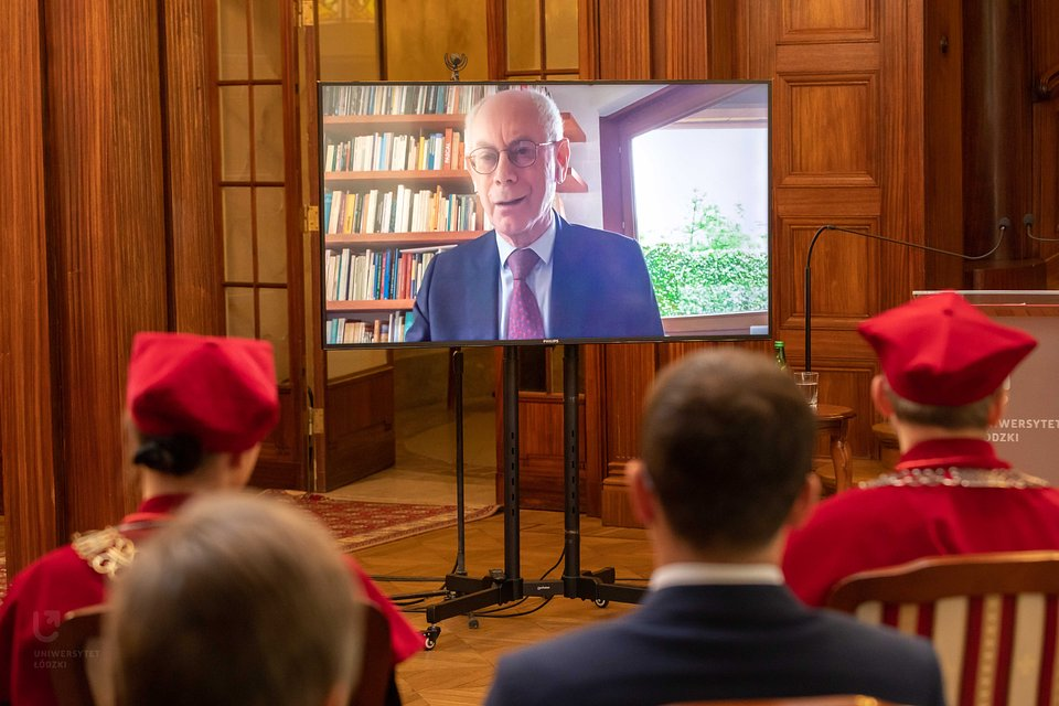 Herman Van Rompuy, foto: M. Andrzejewski UŁ