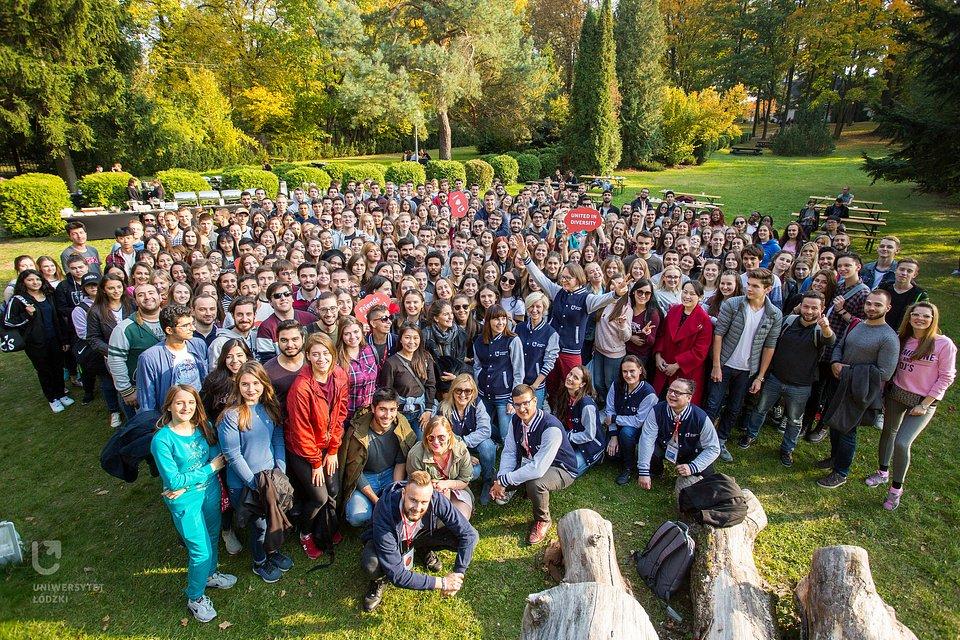 Staramy się po prostu, by pobyt w Polsce nie był dla naszych gości wyłącznie wspomnieniem o nauce i zdobywaniu dyplomów, ale by poczuli, że mogą traktować Polskę jak swój drugi dom. (fot. M. Andrzejewski, UŁ)