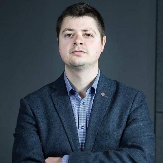 dr Tomasz Lachowski (fot. Maciej Andrzejewski, UŁ)