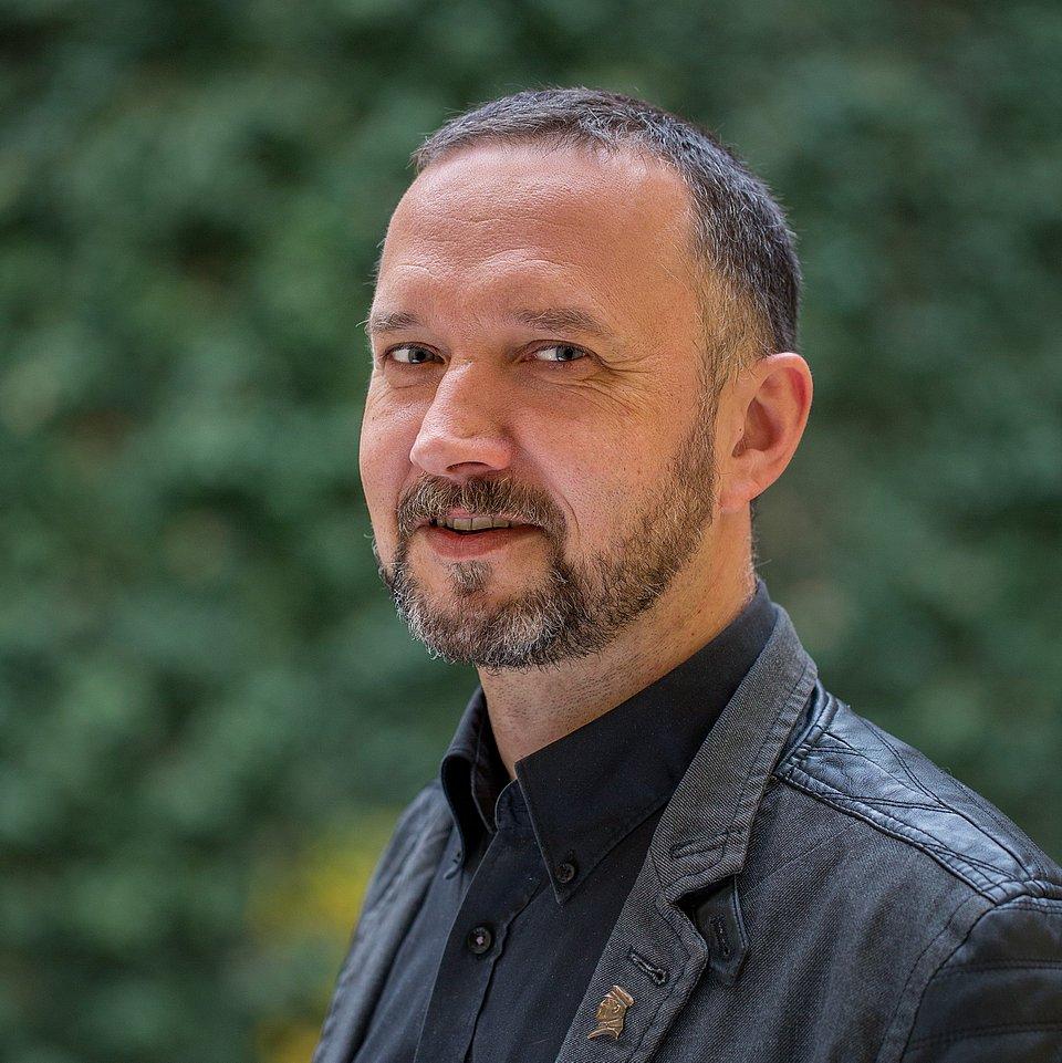 prof. Przemysław Waingertner (fot. Maciej Andrzejewski, UŁ)