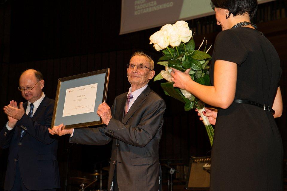 Laureat I edycji Nagrody - prof. Jan Strelau