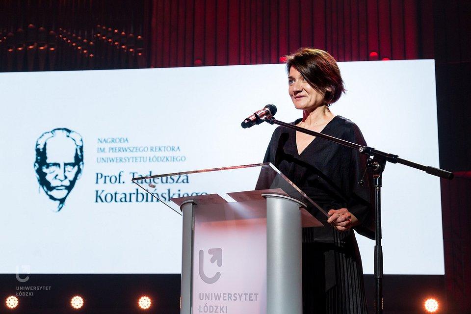 Laureatka III edycji Nagrody - dr hab. Dorota Sajewska