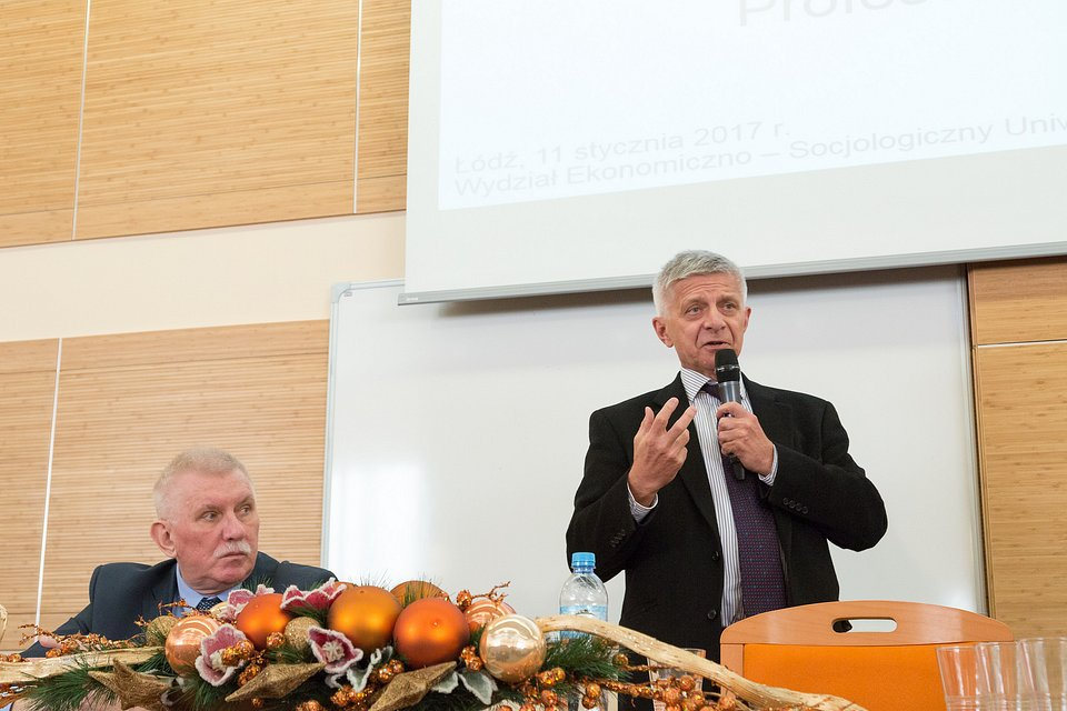 Prof. Marek Belka na EkSoc (2017 r.)