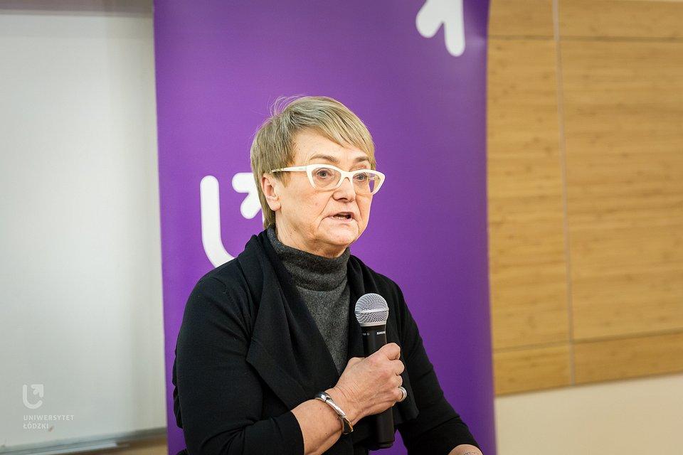 Dr Henryka Bochniarz na EkSoc (2019 r.)