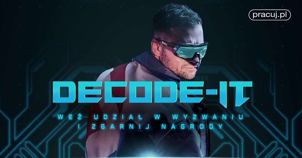 Kliknij, by przejść do strony projektu Decode IT