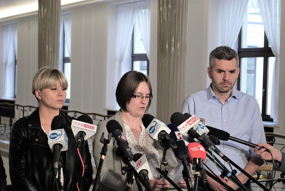 Anna Mendrok, Agnieszka Nowak, Maciej Konieczny