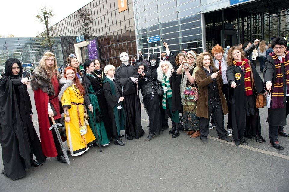 Harry Potter cosplay, fot. Marcin Pflanz.jpg