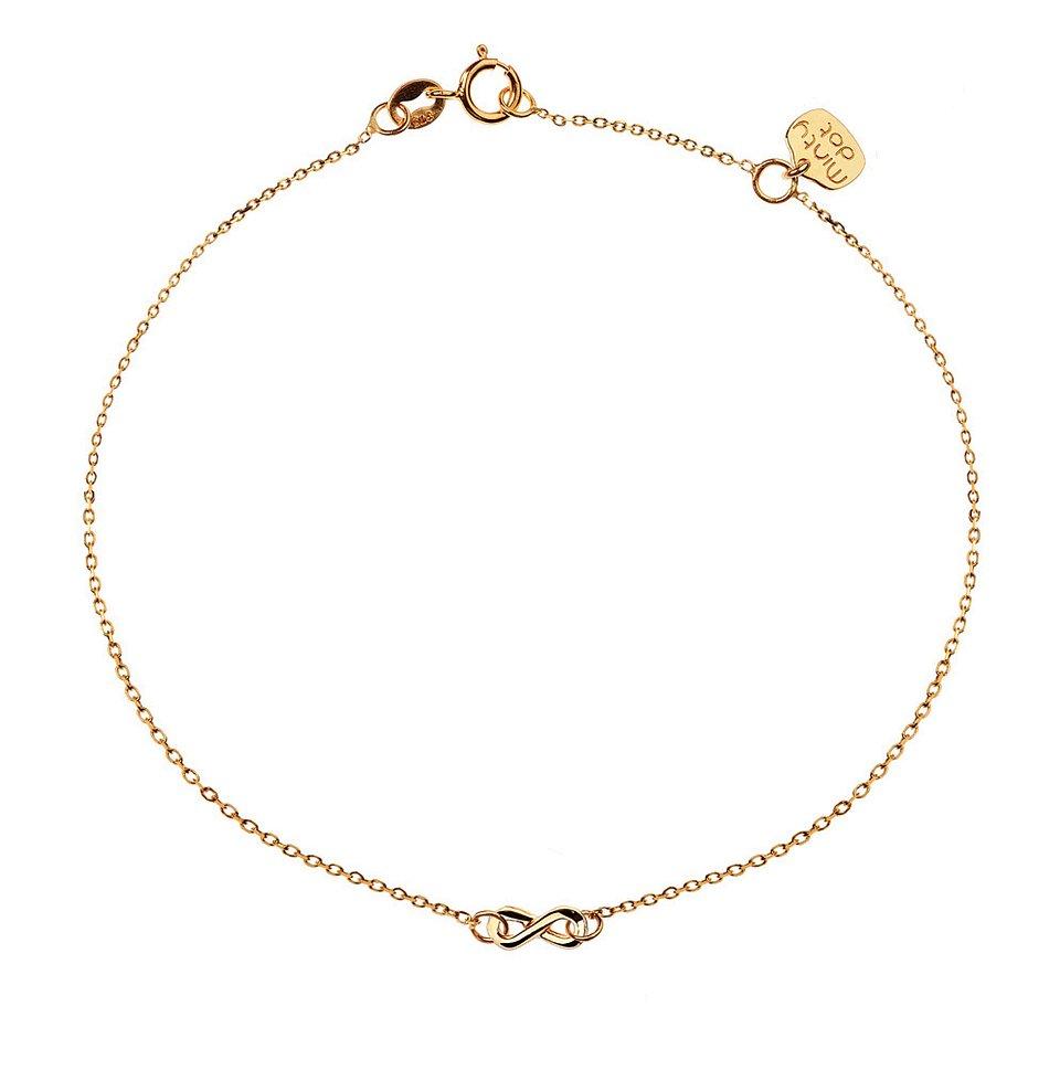 Nieskończoność - bransoletka złota 390 zł