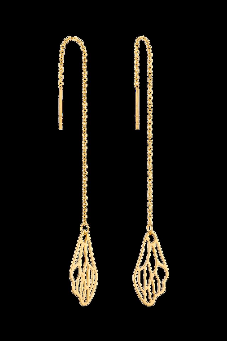 Złote kolczyki, 290 zł