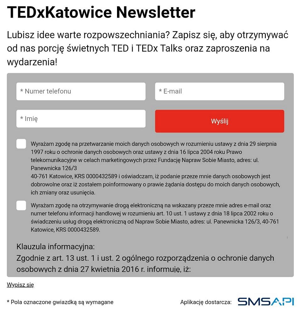 Źródło: TEDx Katowice