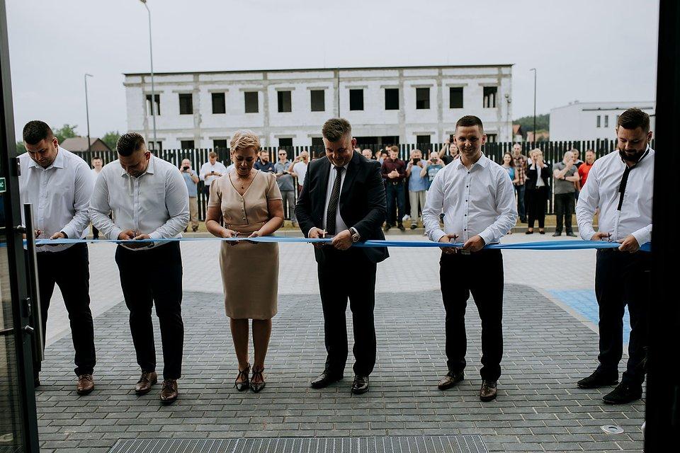Otwarcie zakładu w Tarnowie