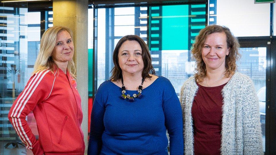 Monika Machowska, Agnieszka Włodarczyk-Gębik, Aleksandra Gabriel - zespół projektu SISCODE