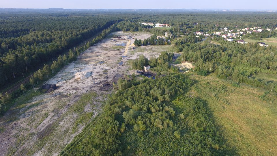 Gmina Libiąż, teren przy ul. Orkana (teren po byłej kopalni)
